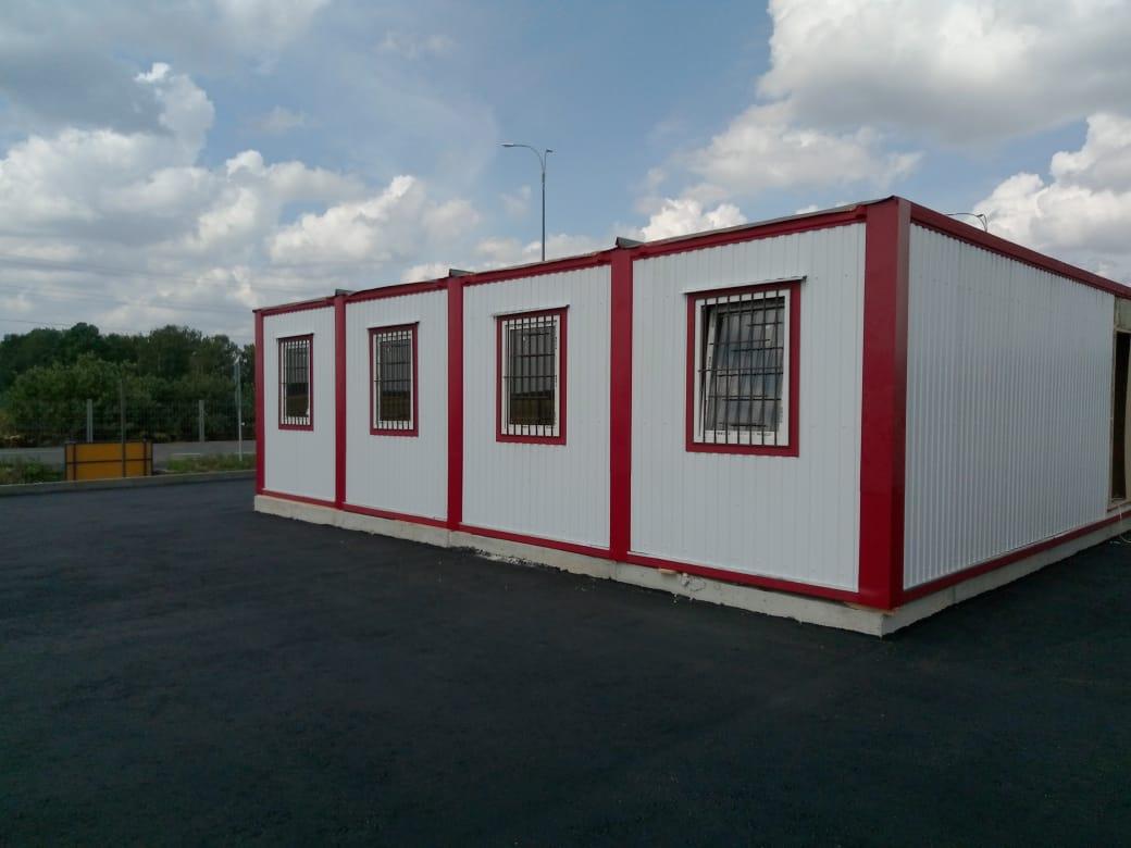 Модульное здание из блок-контейнеров МБ-007