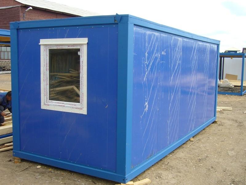 Блок-контейнер из сэндвич-панелей БК-00 СП