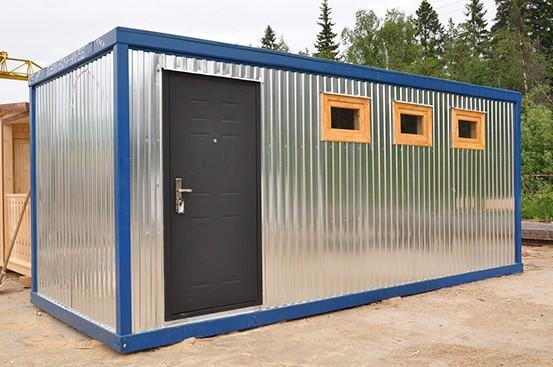Сантехнические модули блок-контейнеры