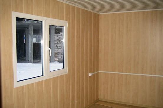 Блок-контейнер от производителя с электрикой и окнами ПВХ