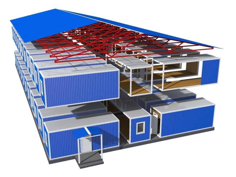 Блочно модульные здания