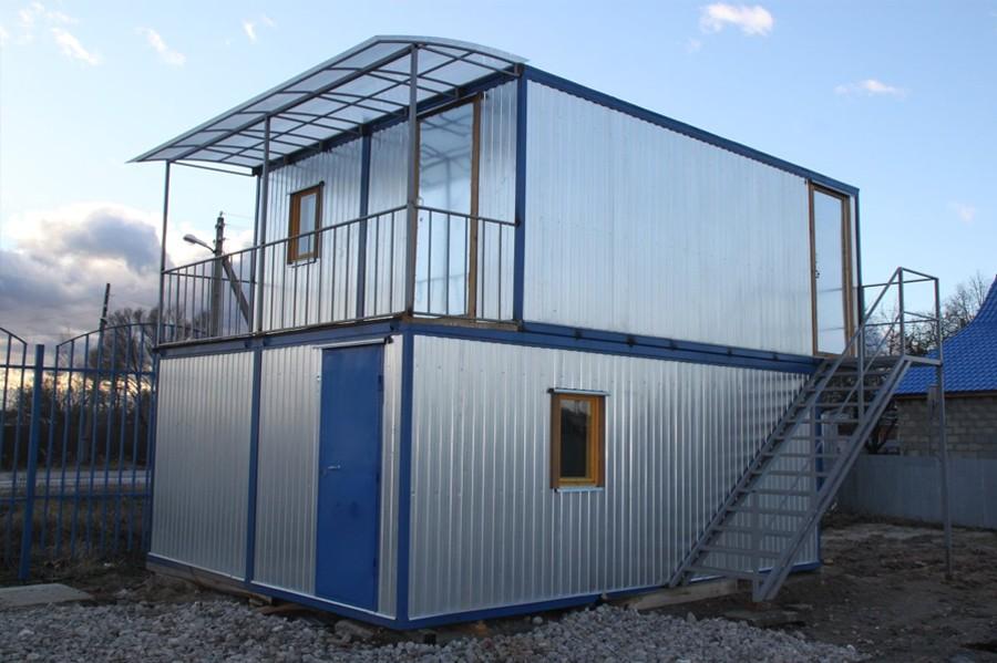 Модульные здания из блок-контейнеров в Москве Бытовки Быстро