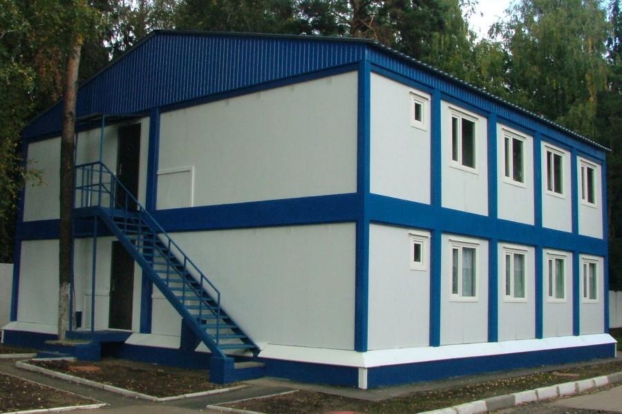 Модульные здания из сэндвич панелей в Москве и Московской области