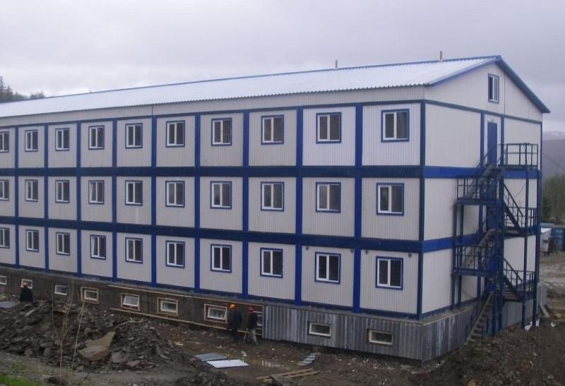 Модульные здания контейнерного типа в Москве и МО