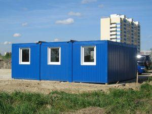 Модульное здание из сэндвич панелей БМ-004