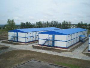 Модульное здание СГР-05