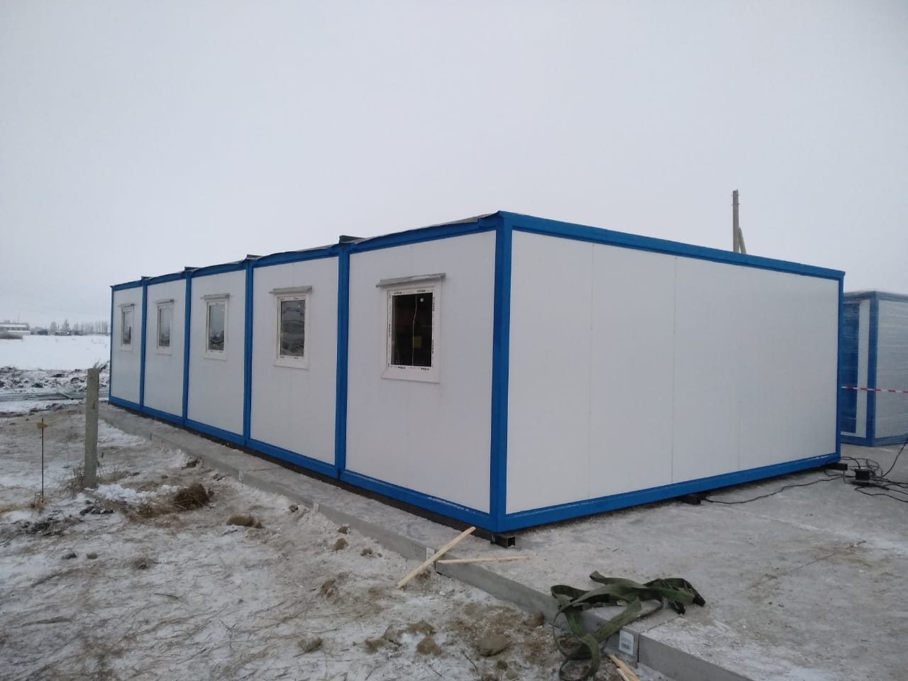 Модульное здание из сэндвич-панелей БМ-04 СП