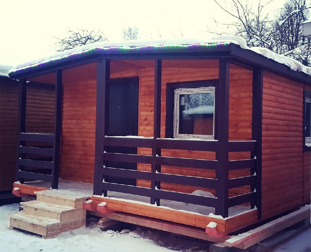 Дом садовый 6x9,2 м «ВЕРОНА»