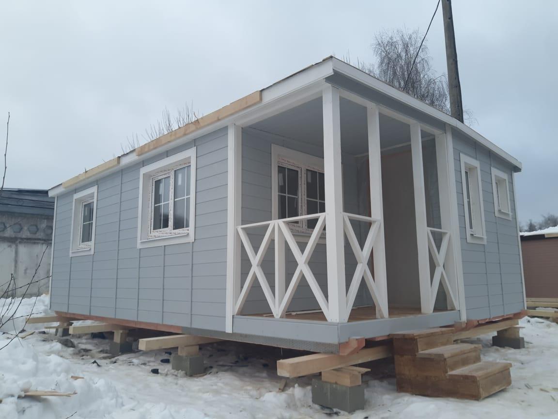 Летний домик 7x4,6 м «ЛИНДОРФФ»