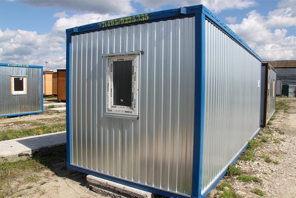 Строительный блок-контейнер