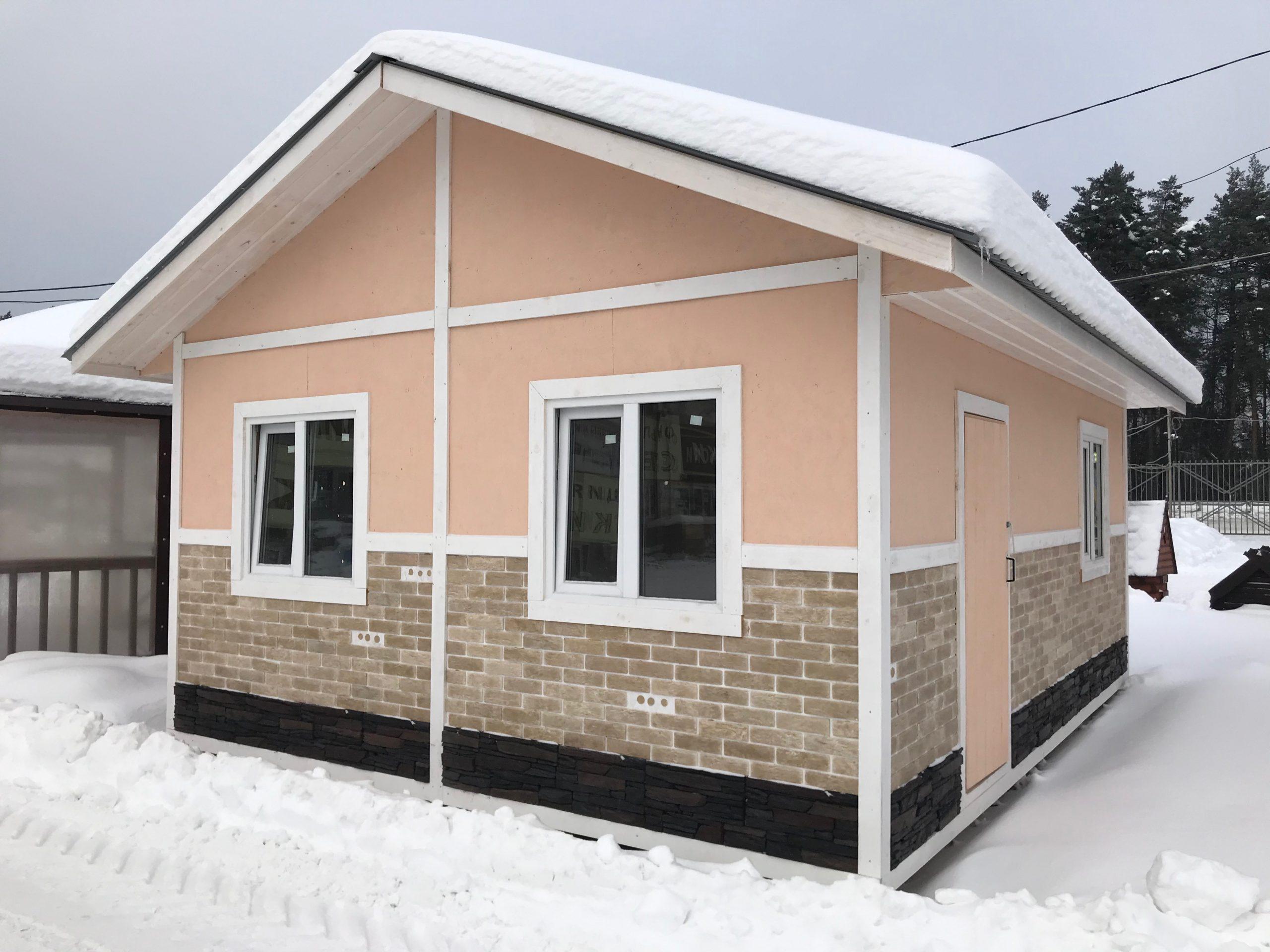Садовый домик 6x4,6 м «РИМ»