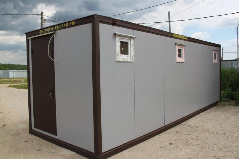 Сантехнический блок-контейнер из сэндвич панелей СБК-07