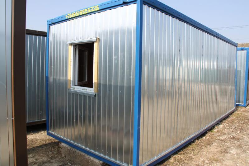 Блок-контейнер БК-00 из панелей ПВХ
