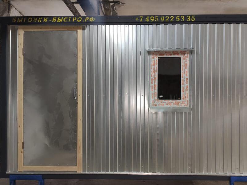 Блок-контейнер cтроительный БК-012 OSB